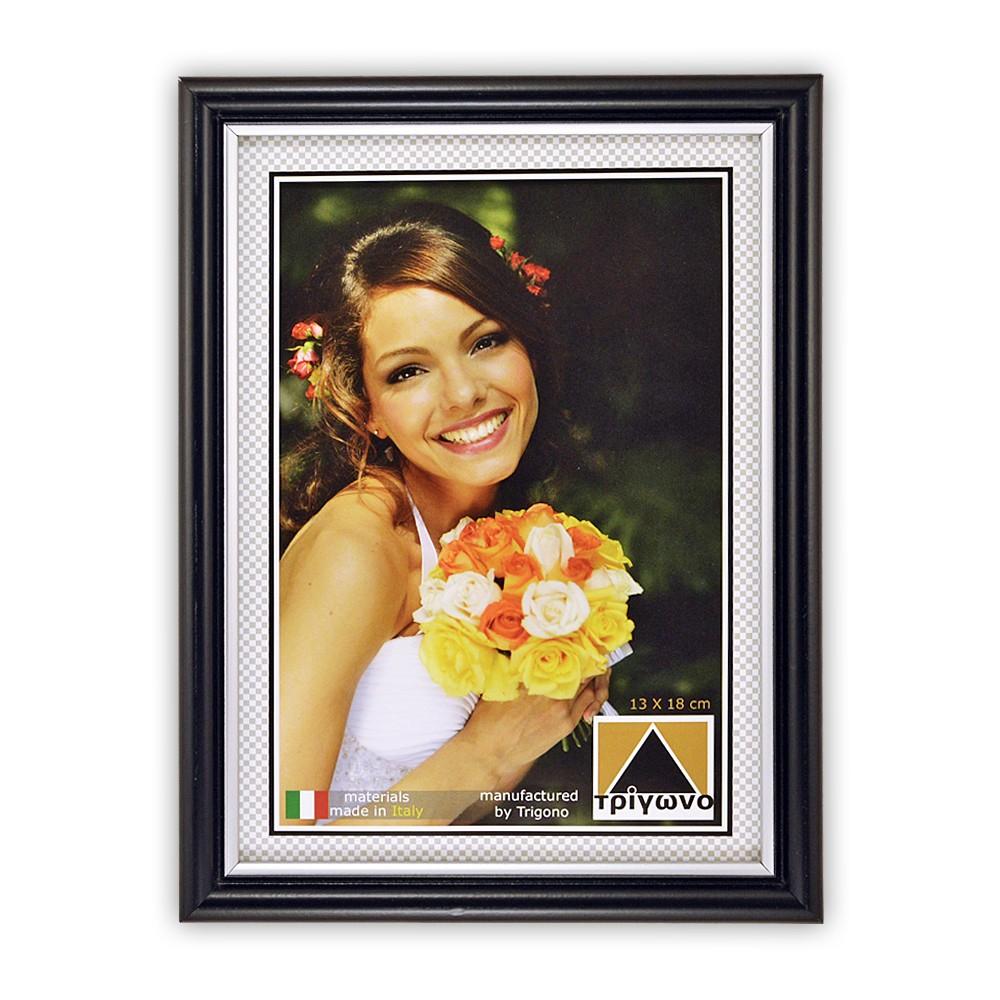 7303 Κορνίζα πλαστική τοίχου ή επιτραπέζια για φωτογραφίες 10x15