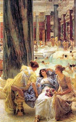 The baths of Caracalla Alma-Tadema Sir Lowrence