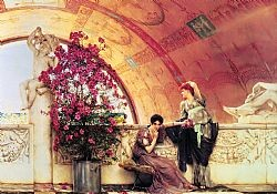 Unconscious rivals Alma-Tadema Sir Lowrence