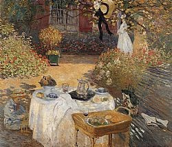The luncheon Monet Glaude