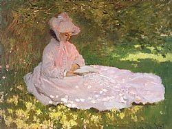 The reader Monet Glaude