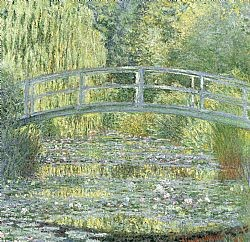 Water lily pond Monet Glaude