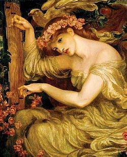 A sea spell Rossetti Dante Gabriel