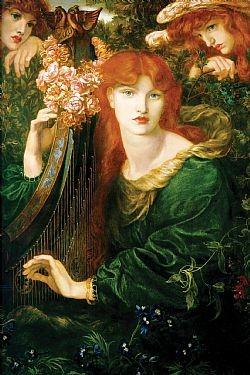 La ghirlandata Rossetti Dante Gabriel