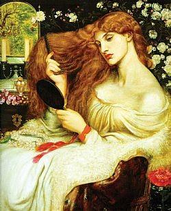Lady Lilith Rossetti Dante Gabriel