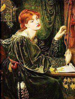 Veronica Veronese Rossetti Dante Gabriel