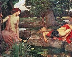 Echo and Narcissus Waterhouse