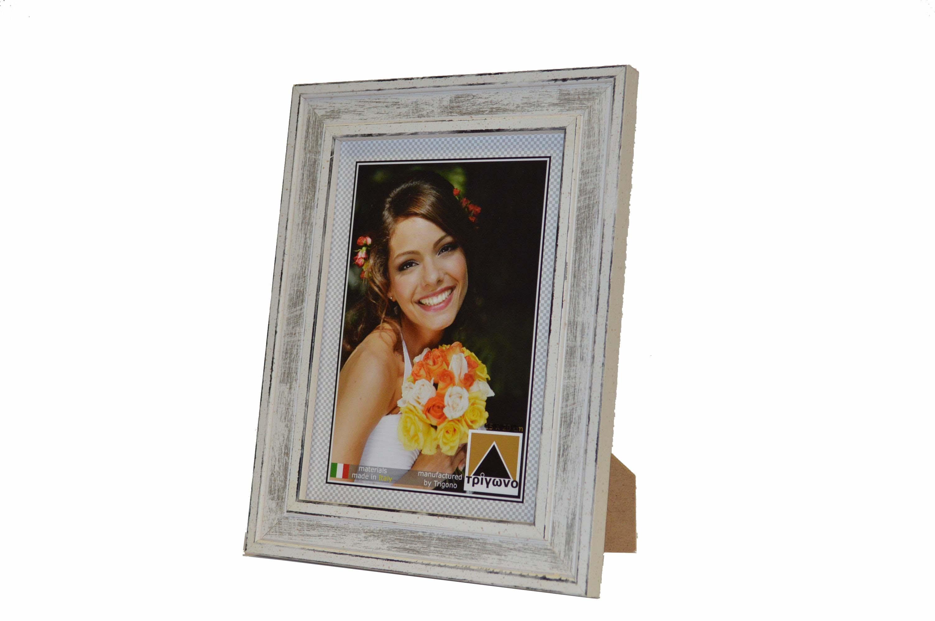 341 Κορνίζα ξύλινη τοίχου ή επιτραπέζια για φωτογραφίες 13x18