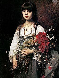 Flower girl Harmaloff Alexei