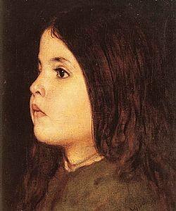 Κοριτσάκι Γύζης Νικόλαος