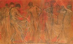 Ο χορός των Μουσών Γύζης Νικόλαος