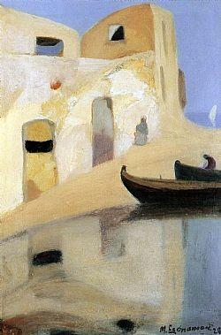 Σπίτια με βάρκες Οικονόμου Μιχάλης