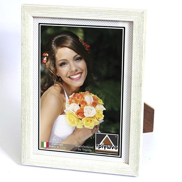 6301 Κορνίζα ξύλινη τοίχου ή επιτραπέζια για φωτογραφίες 50X70